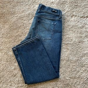 Lucky Brand crop jeans by Gene Montesano size 8/29